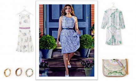 Eva Mendes Spring 2015 Collection--All About the Glamour