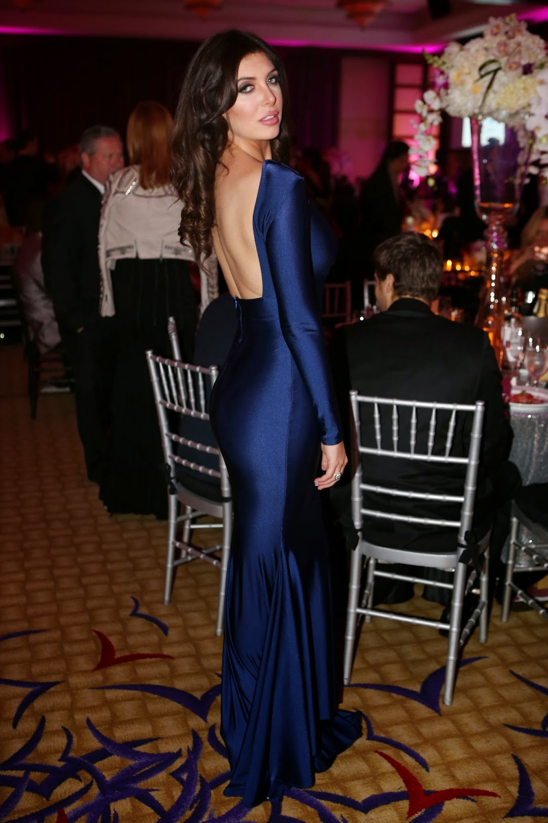 Celebrity Spotting: Brittny Gastineau at Women of Tomorrow Event in Miami
