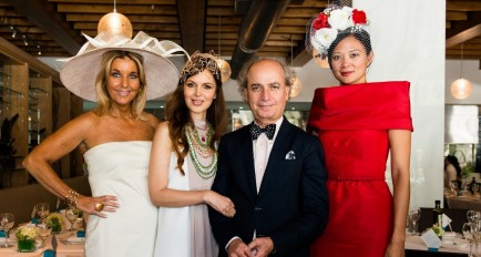 Big Hats & Bow Ties: Fashionable MISO Brunch Fundraiser in Miami
