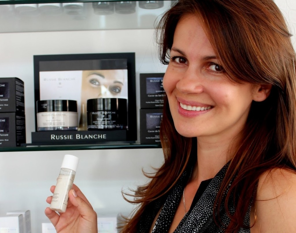 Julia Lemigova Launches Russie Blanche Cosmetics line in Miami
