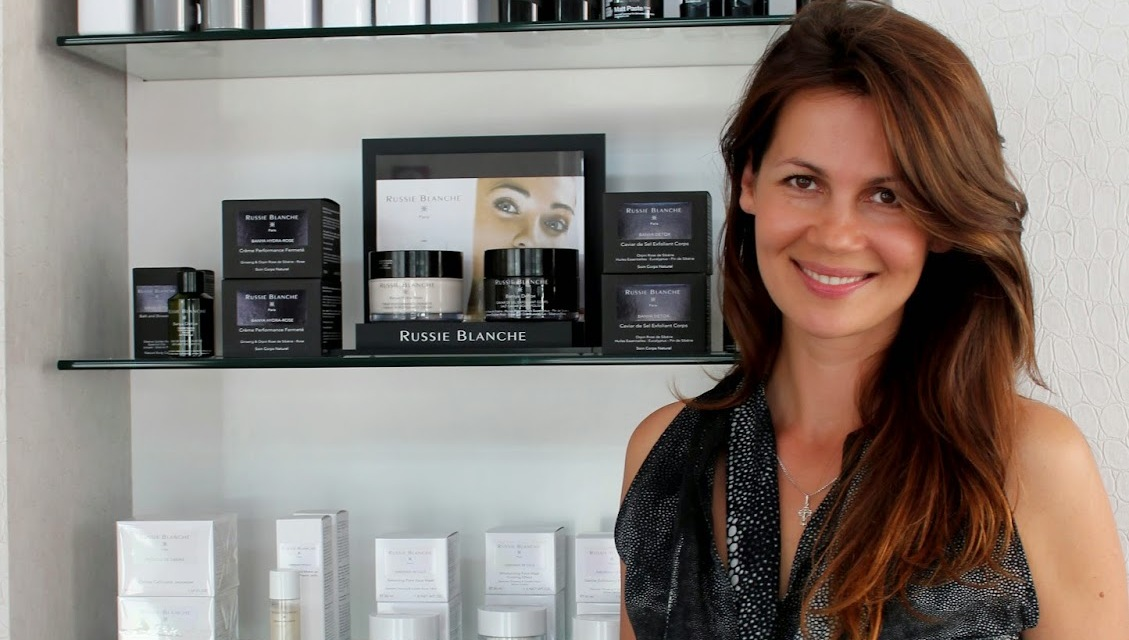 Julia Lemigova Launches Russie Blanche Cosmetics line in Miami