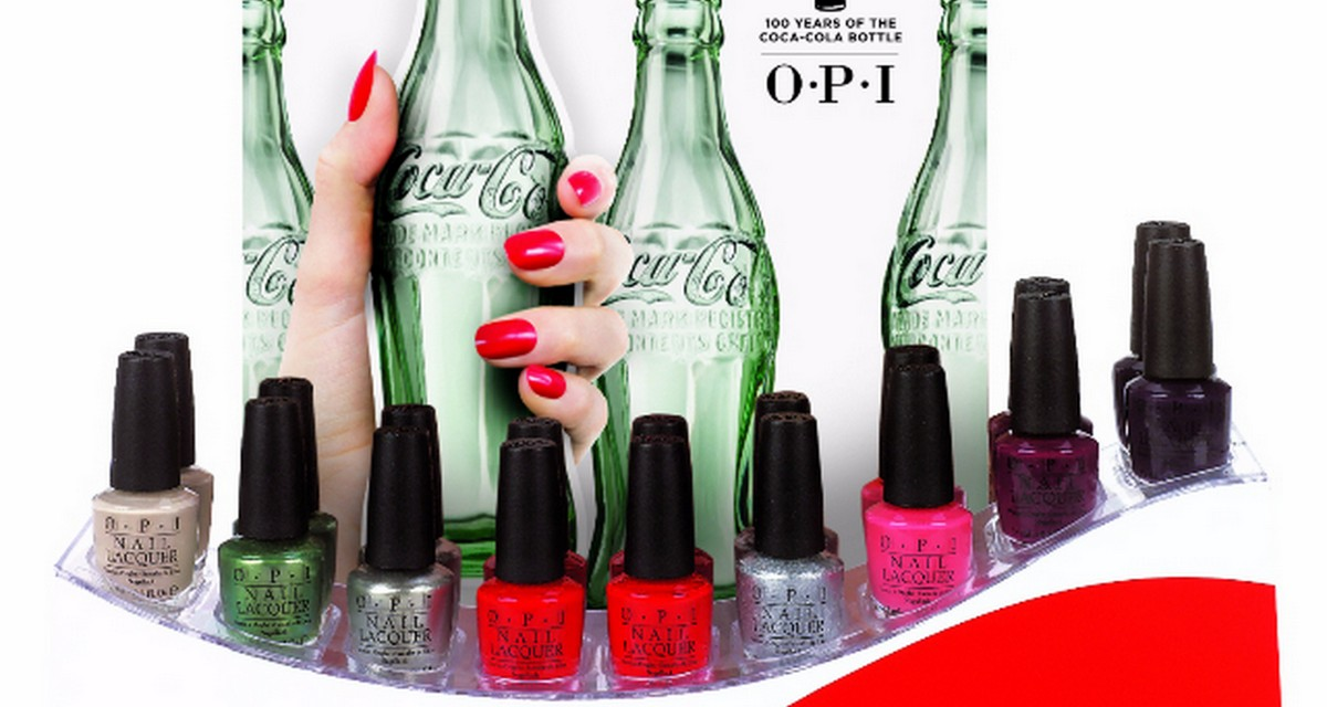 OPI & Coca Cola Celebrate 100 Years of the Coca Cola Bottle with Icons of Happiness Collection