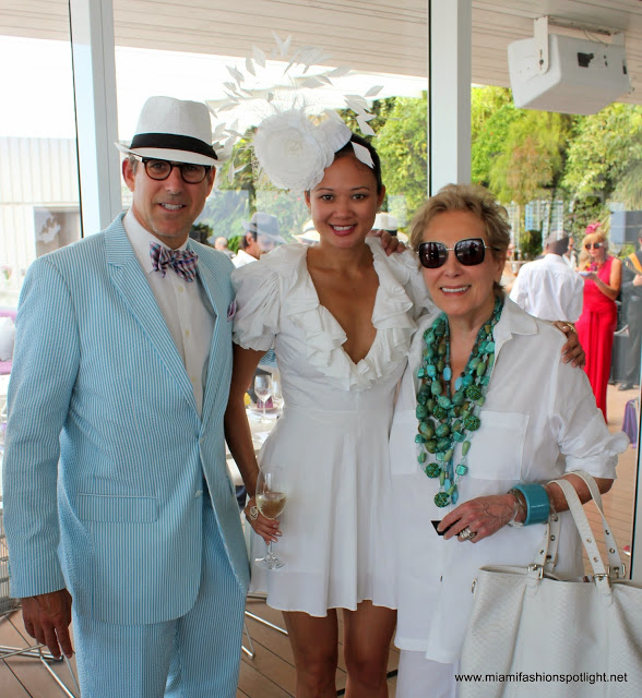 Big Hats & Bow Ties: Food, Music & Fashion for MISO Brunch Fundraiser at Estiatorio Milos‏