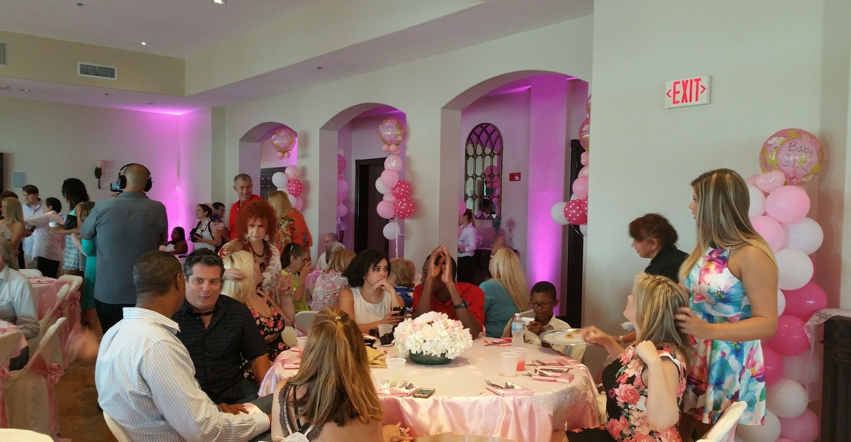 Pretty in Pink Baby Shower of Kazandra Bacardi