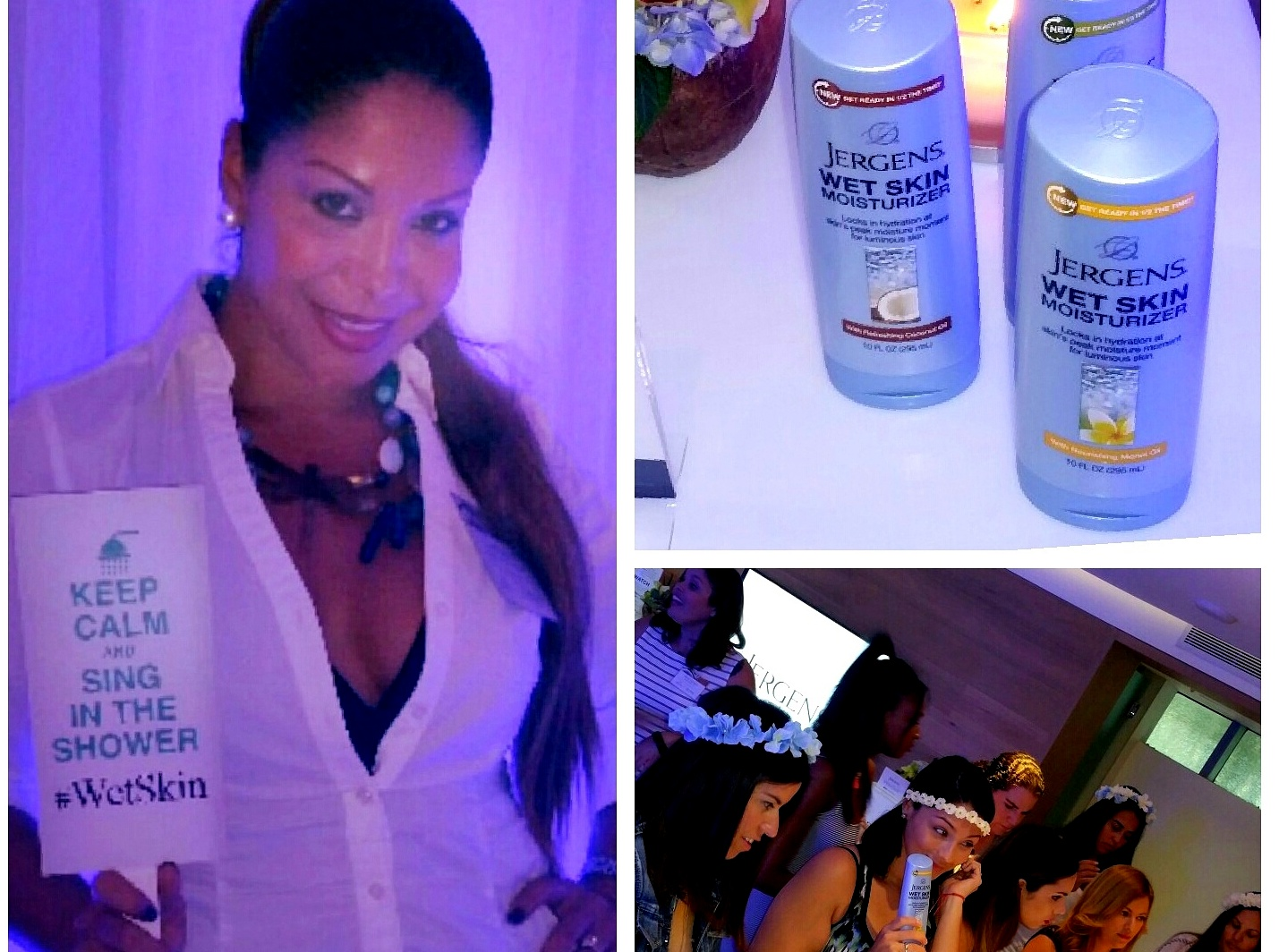Jergens Wet Skin Moisturizer makes a splash at Miami Swim Week