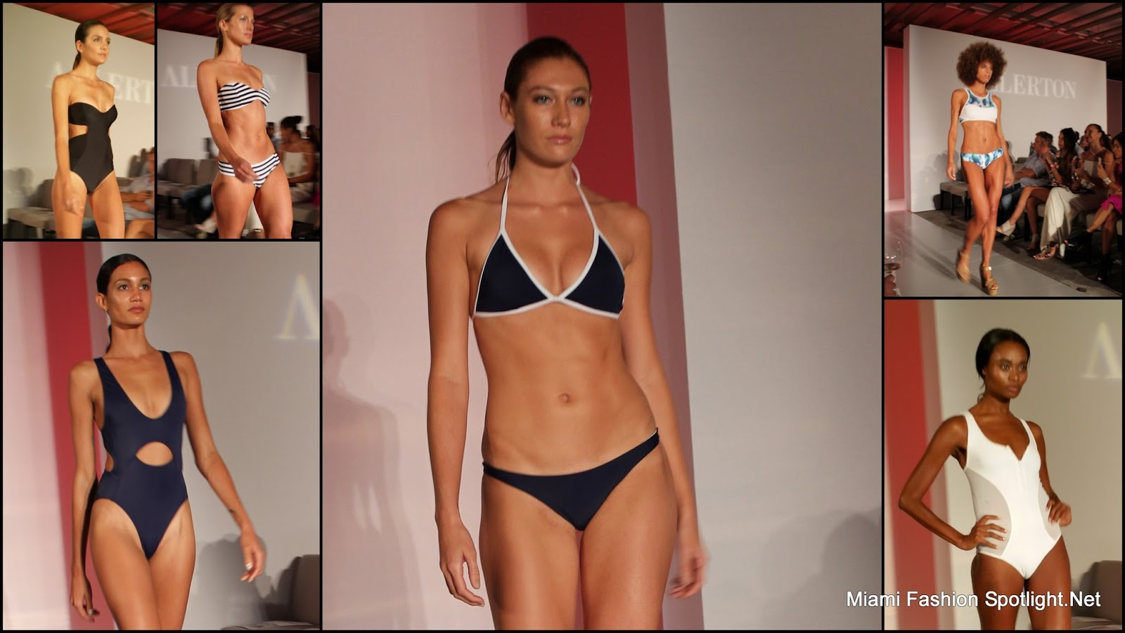 Allerton at Miami Swim Week 2016.