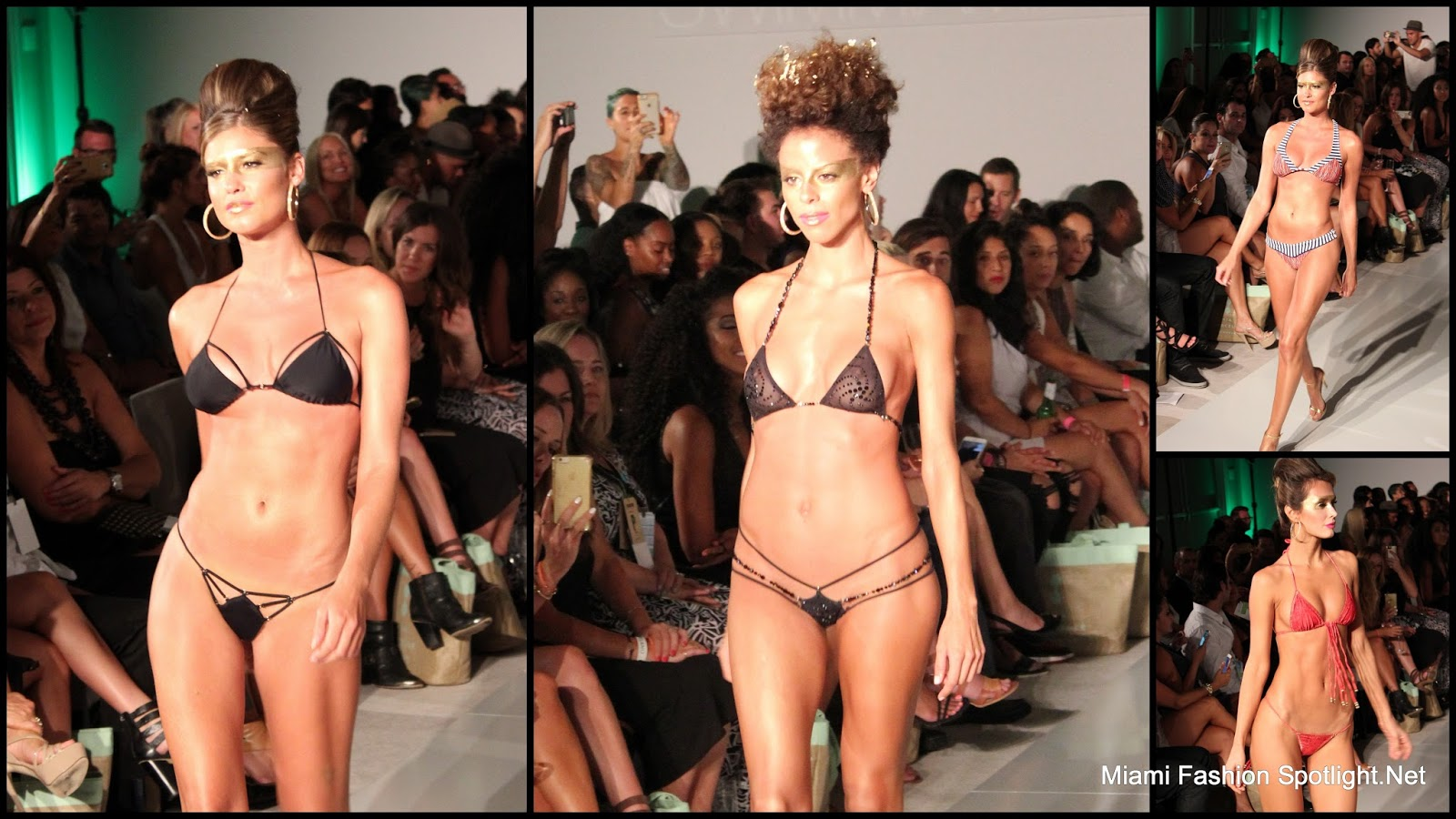 Mia Marcelle at Miami Swim Week 2016.