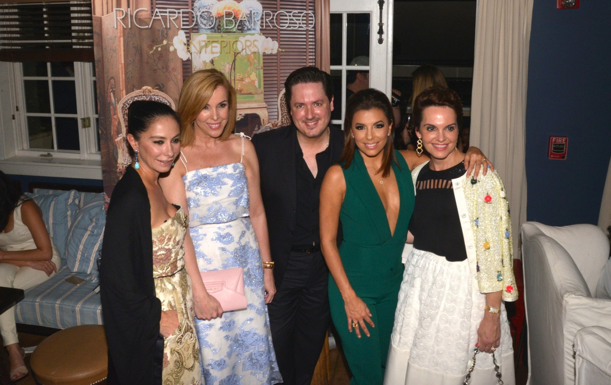 Carolina Laono, Eva Hughes, Ricardo Barroso, Eva Longoria and Ana Hughes. Photo used with permission from Tara INK.