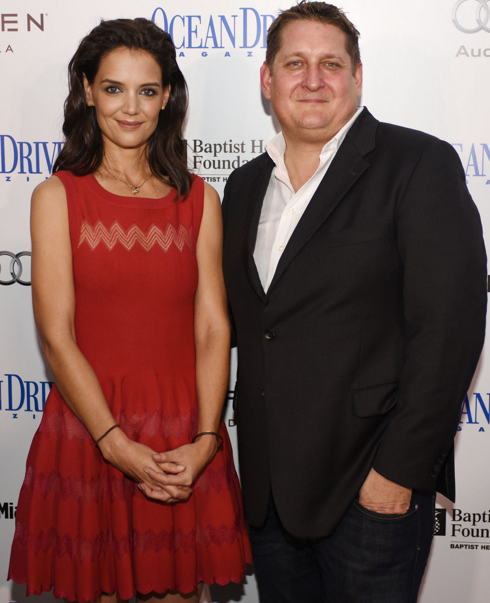 Ocean Drive Celebrates December Issue with Star Katie Holmes in Miami Beach