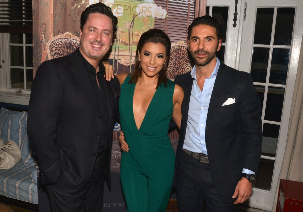 Ricardo Barroso, Eva Longoria and Jose Antonio Baston. Photo used with permission from Tara INK.