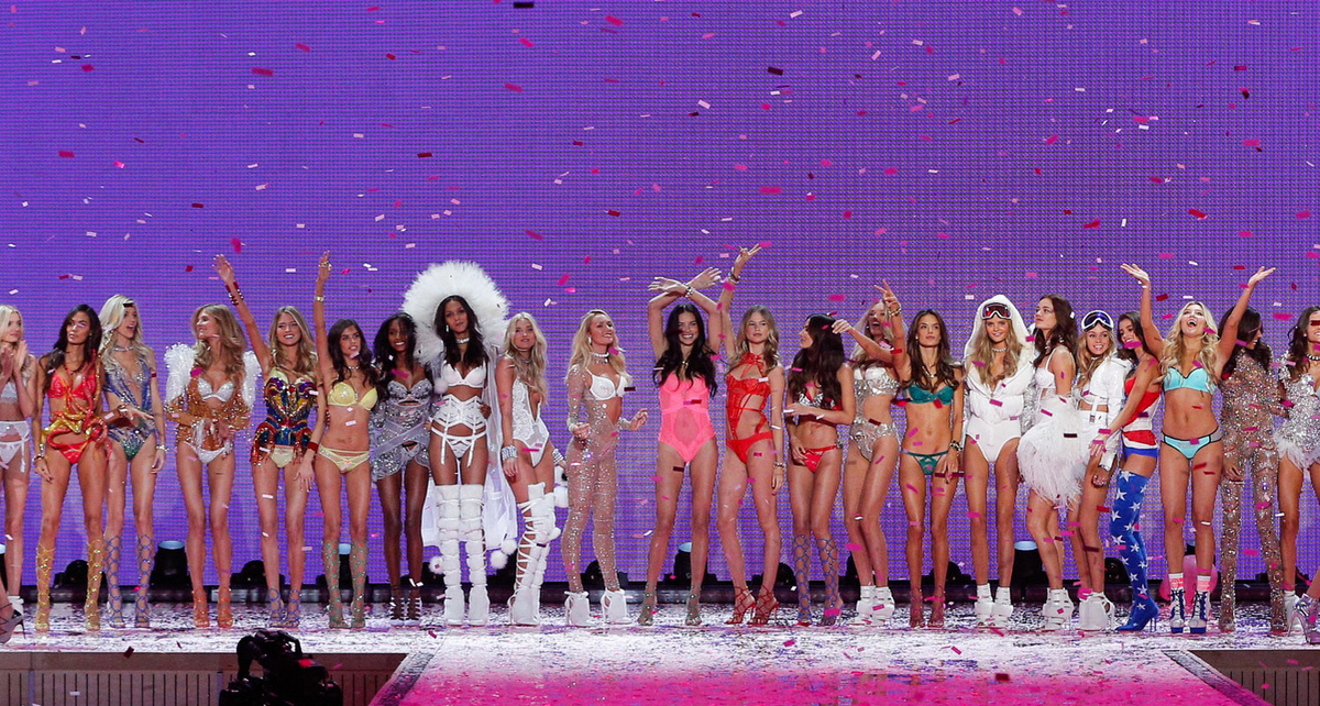 Victoria's Secret Fashion Show Runway Finale.