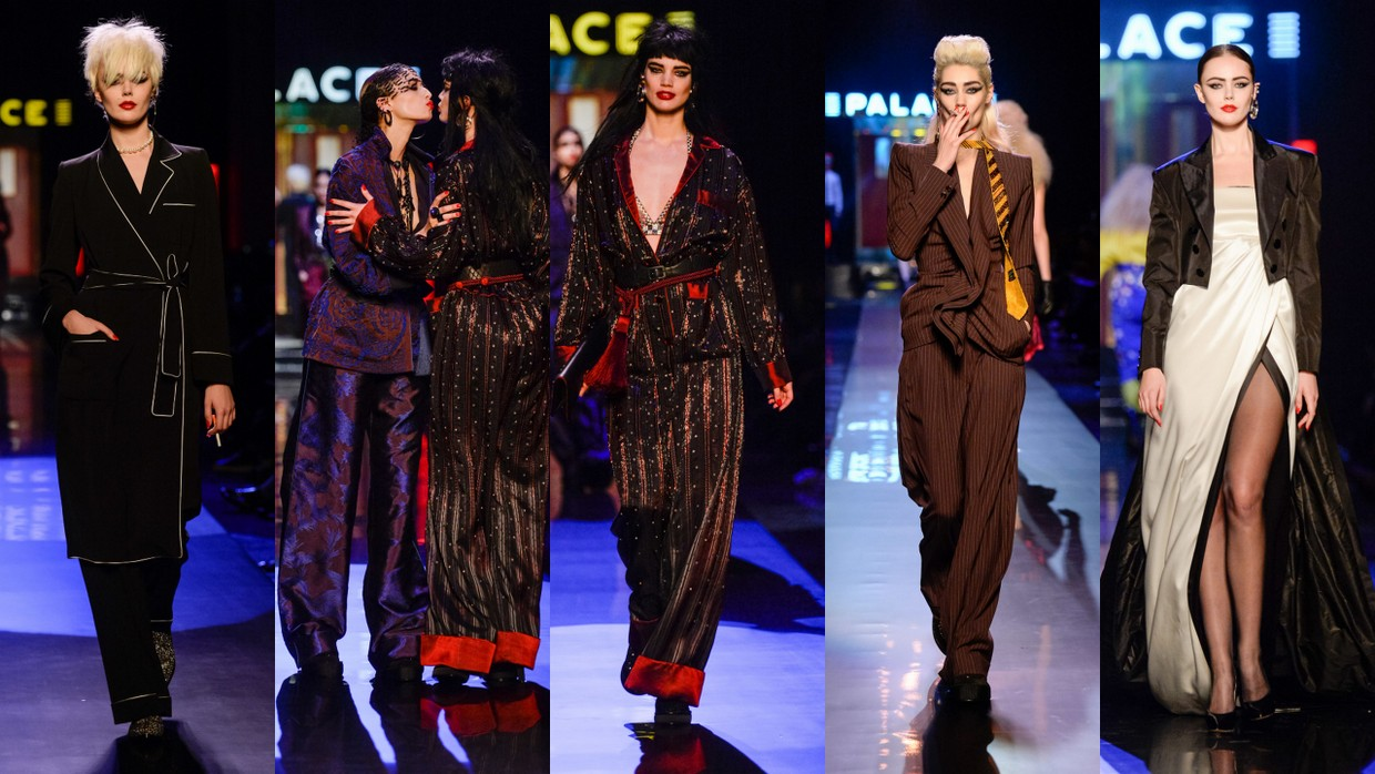 Jean Paul Gaultier Reverences the 80's with His Haute Couture Spring/Summer 2016 Collection at Paris Fashion Week
