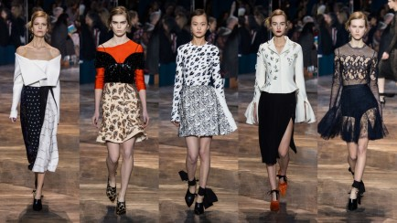 Dior Haute Couture Spring-Summer 2016 Runway