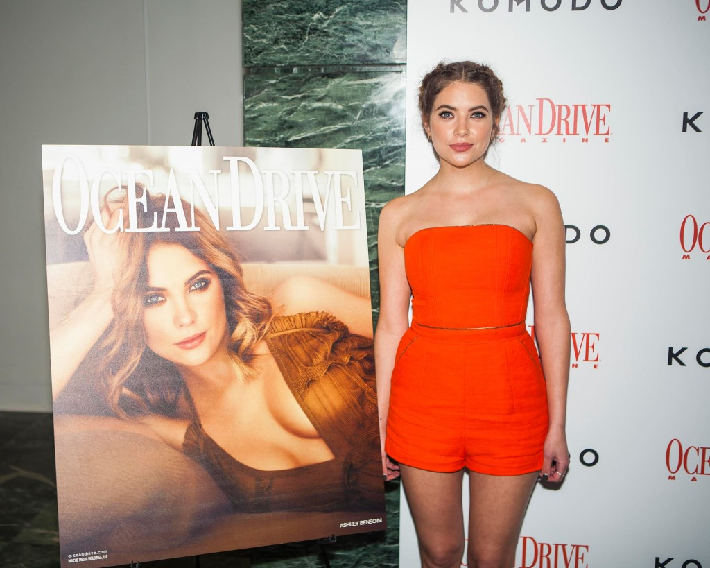 """Ocean Drive Magazine Celebrates 23RD Anniversary Issue with Ashley Benson at Komodo"""