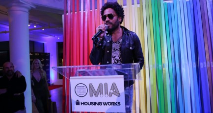 Lenny Kravitz Honored at Housing Works Event, Design on a Dime Miami‏