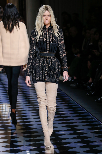 Balmain Fall/Winter 2016 at PFW