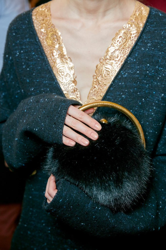 Sally Hansen Perfecting the Natural Nail at Stella McCartney's Winter 2016 Fashion Show at PFW