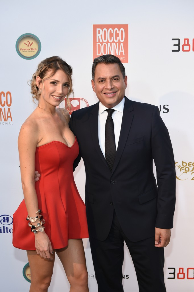Alessandra Villegas and Daniel Sarcos
