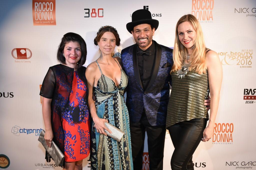 Lisu Vega, Roxana Lynch , Leo Rocco and Irina Samarkina