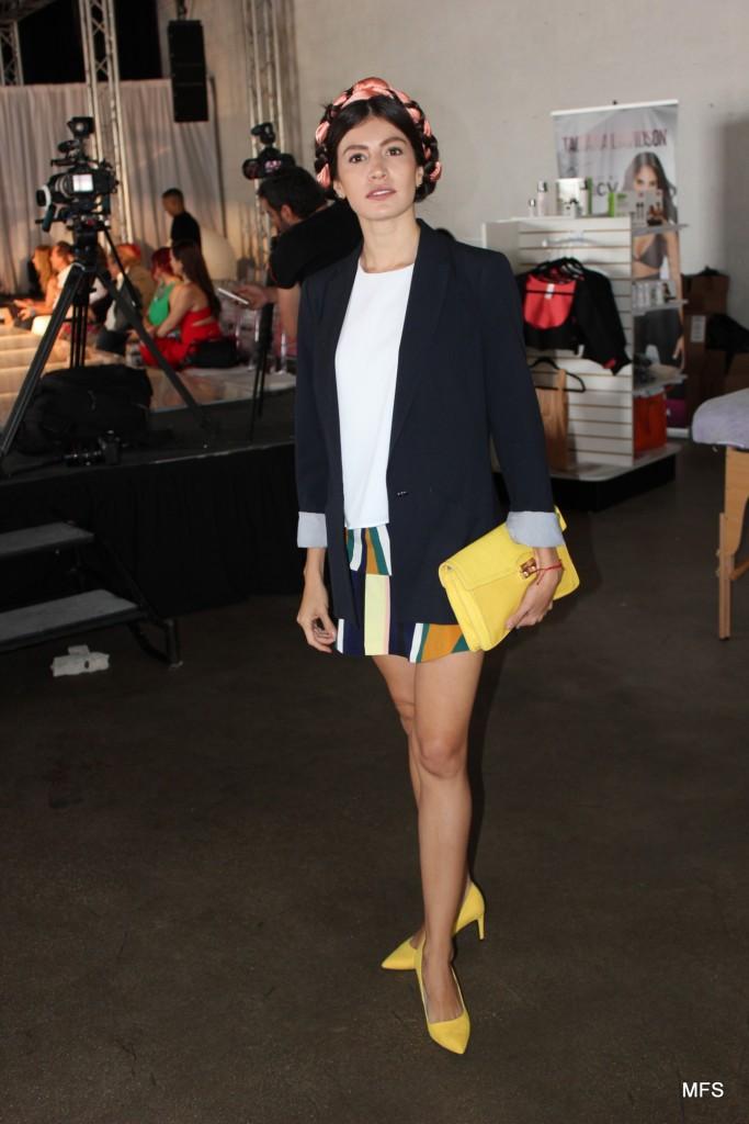 Our Favorite outfit: Danie Gomez-Ortigoza. Coordinadora editorial en Miami de Glamour LatinoAmerica. Credit: Frank E. Diaz