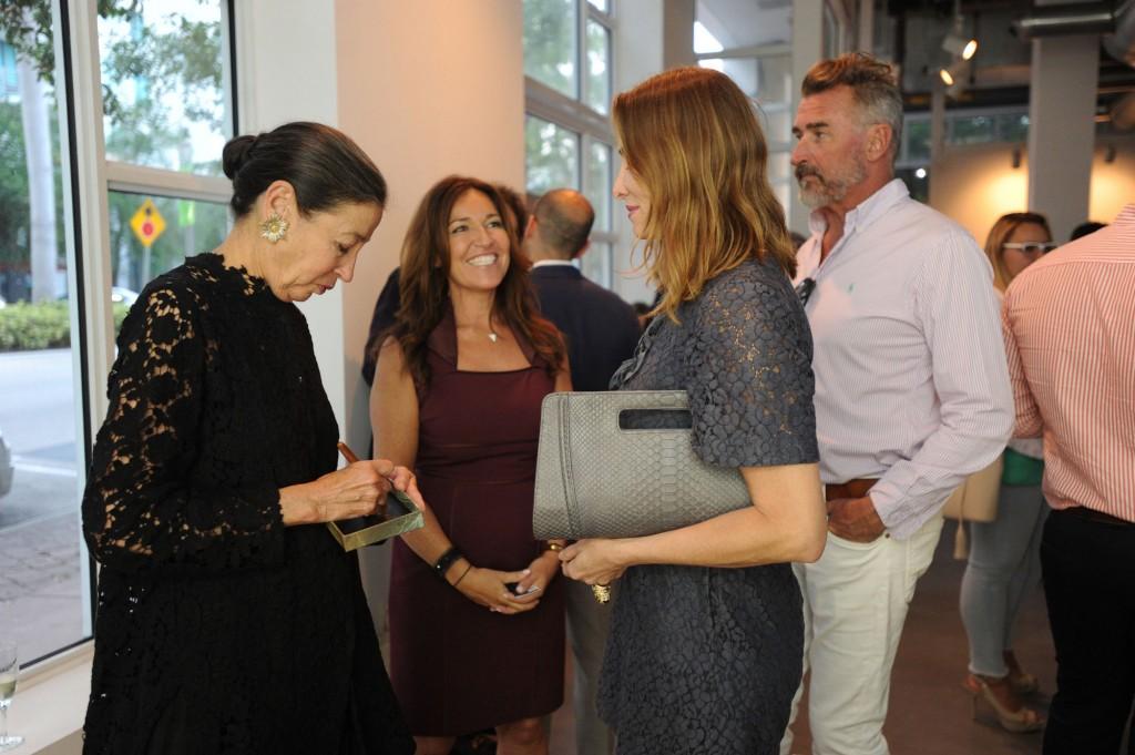 Michele Oka Doner, Macarena Gomez, Kimberly Diamant, & Todd Wilson
