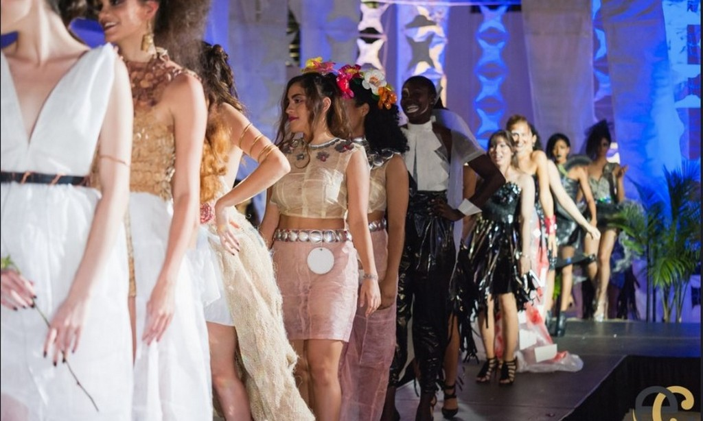 Dadeland Mall Hosts Eco Couture Dress Exhibition