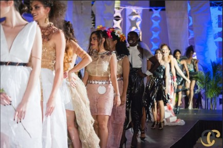 Dadeland Mall Hosts Eco Couture Dress Exhibition‏