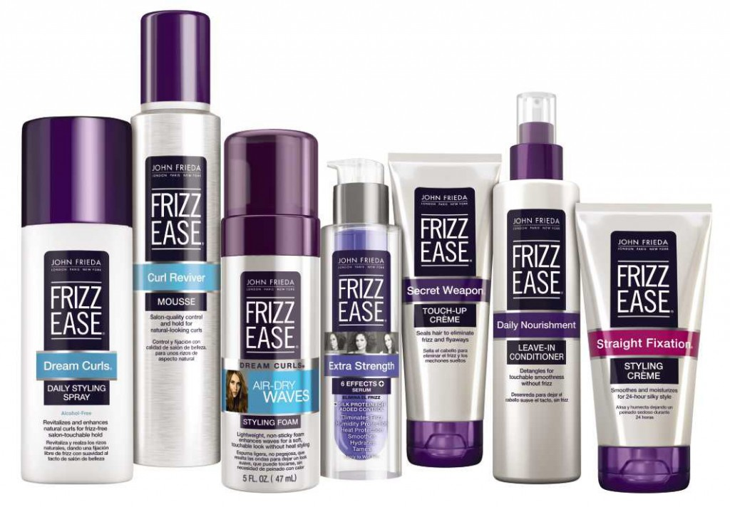 John Frieda Frizz Ease Collection.