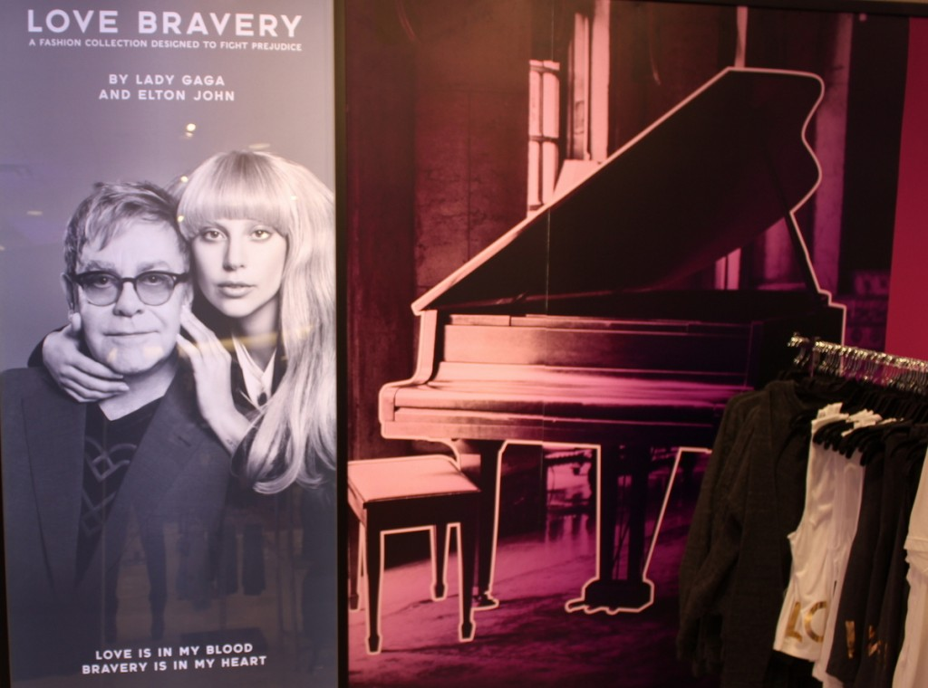 Macy's Aventura Mall Kicks off Love Bravery collection by Elton John & Lady Gaga
