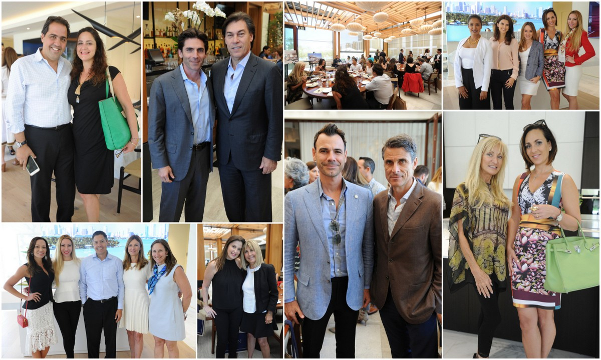 3900 Alton Hosted Luncheons at Nobu Miami Beach