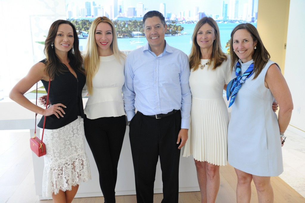 3900 Alton Hosted Two Luncheons at Nobu Miami Beach