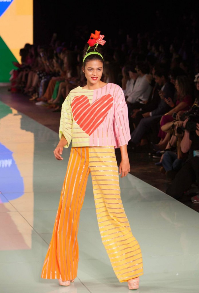 Agatha Ruiz de la Prada at Miami Fashion Week 2016