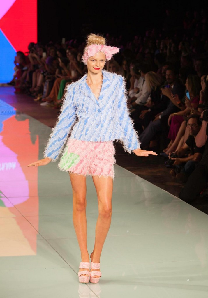 Agatha Ruiz de la Prada at Miami Fashion Week 2016