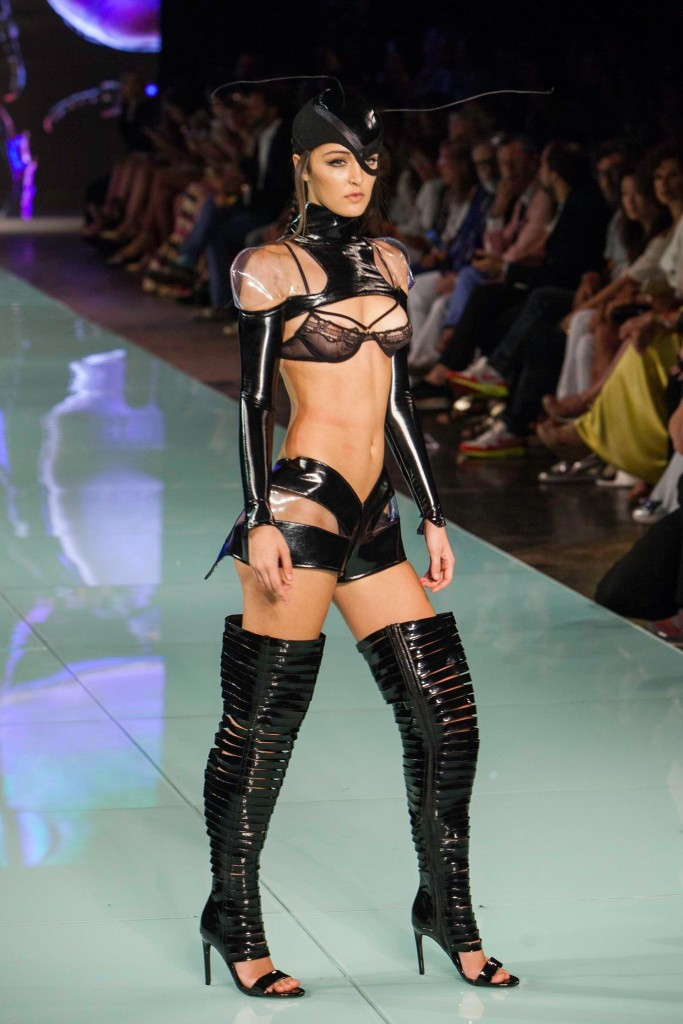 Andres Sarda at Miami Fashion Week 2016.