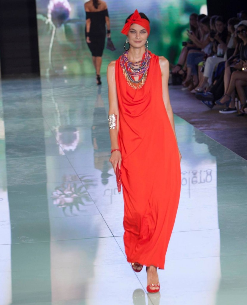 Claudia Bertolero at Miami Fashion Week 2016