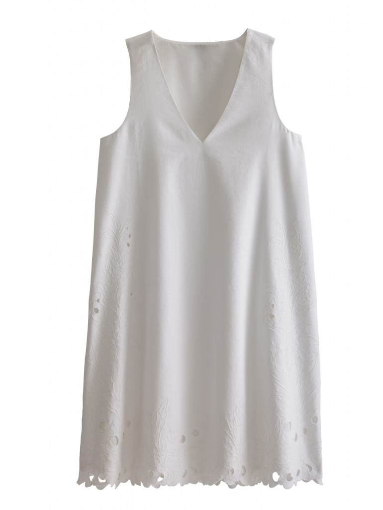 Crisp Whites from Ann Taylor‏. Sleeveless Blouse $159