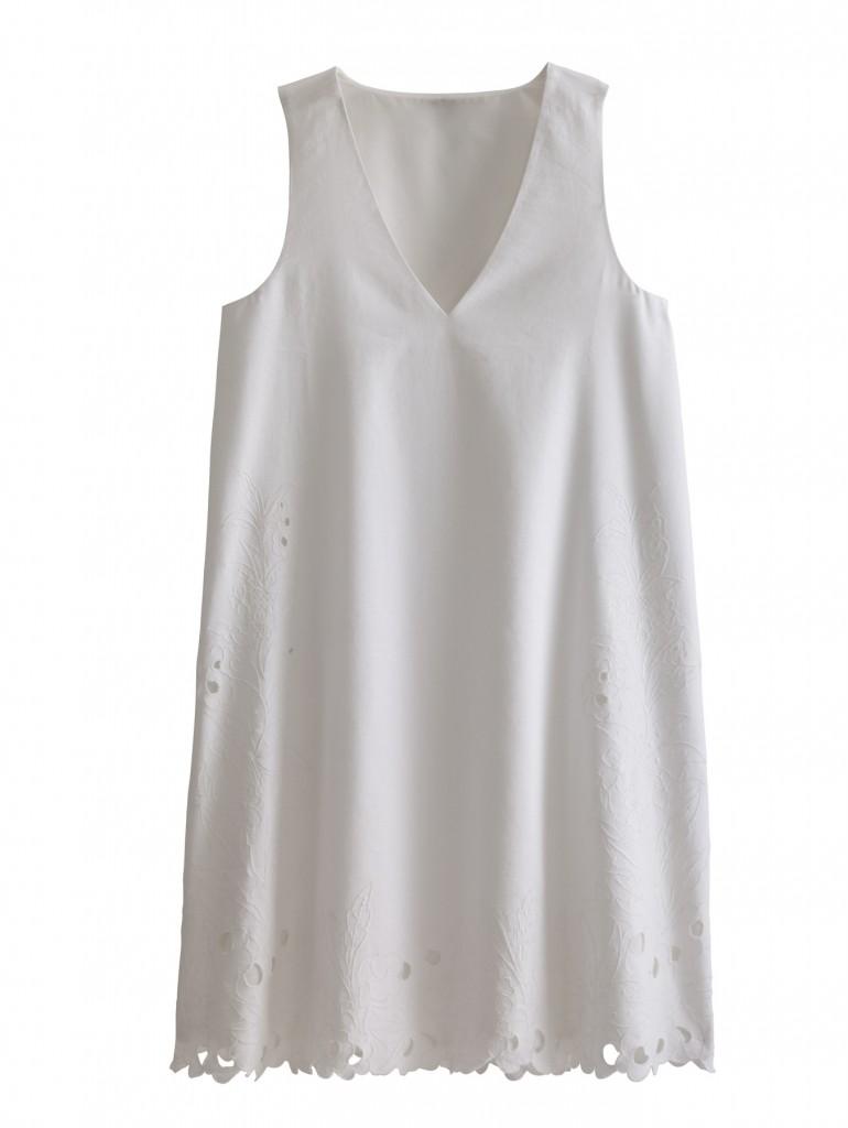 Crisp Whites from Ann Taylor. Sleeveless Blouse $159