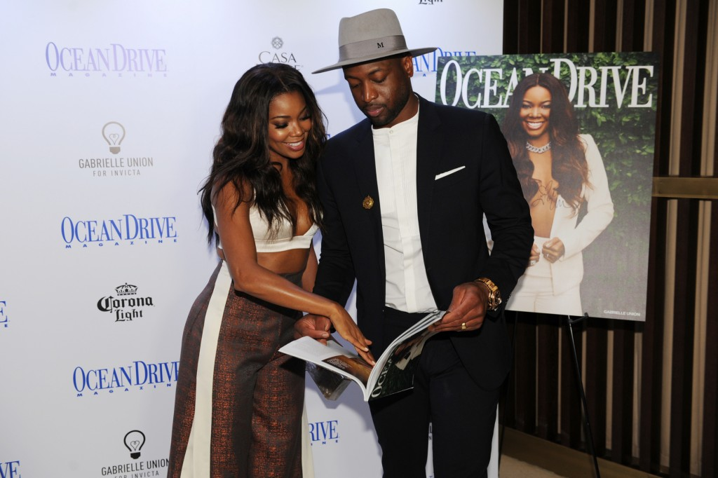 """Ocean Drive Magazine Celebrated The May/June Issue With Cover Star Gabrielle Union At Nautilus, A SIXTY Hotel"""