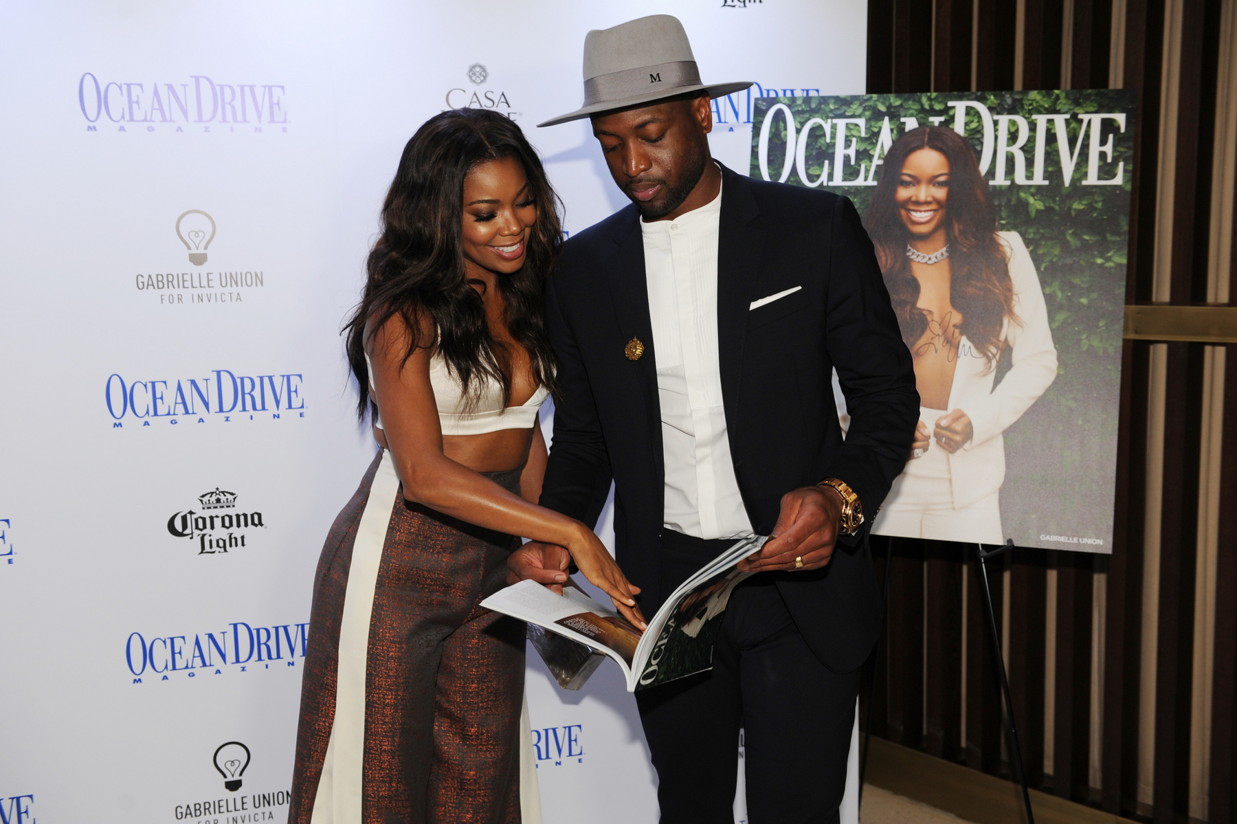 Ocean Drive Magazine Celebrated Its June Issue with Cover Star Gabrielle Union