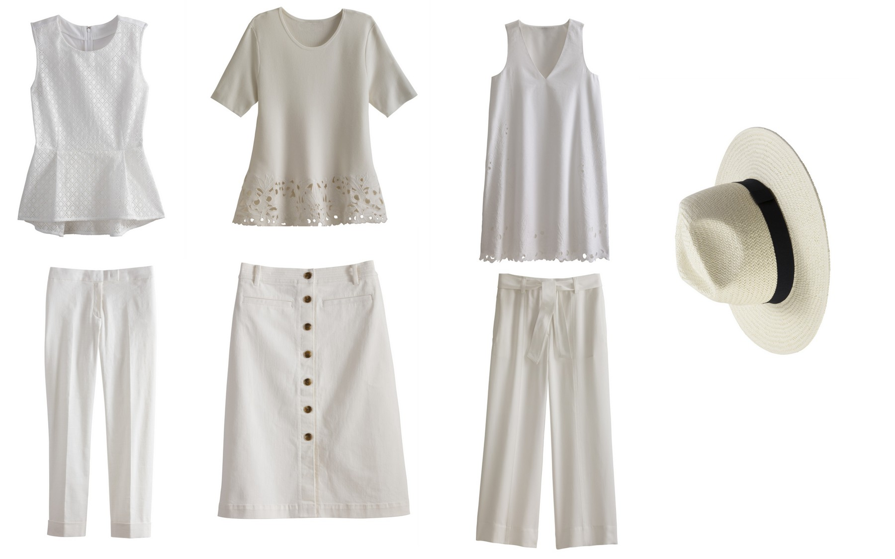 Summer Style: Crisp Whites from Ann Taylor
