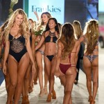 MIAMI BEACH, FL – JULY 15: Models walk the runway at the Frankie's Bikinis 2017 Collection at SwimMiami – Runway at W South Beach on July 15, 2016 in Miami Beach, Florida. (Photo by Frazer Harrison/Getty Images for Frankie's Bikinis).