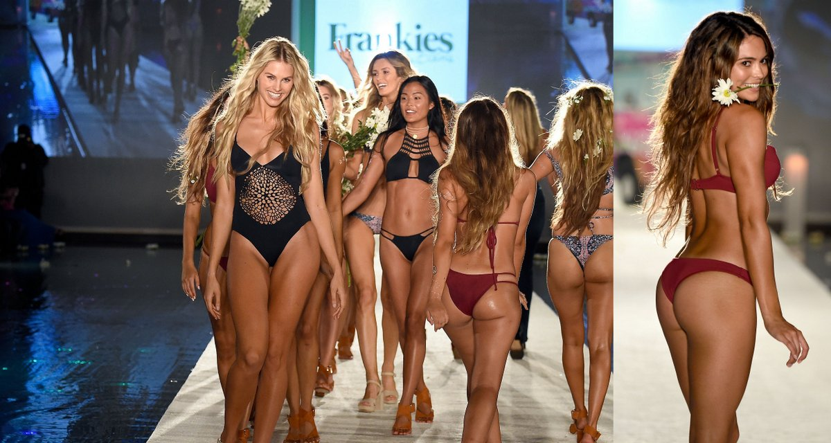 Frankie's Bikinis: The Best Runway Show of Swim Week Miami