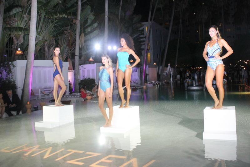 Ocean Drive Magazine Celebrates its Swim Issue with cover star Hannah Ferguson at Delano South Beach