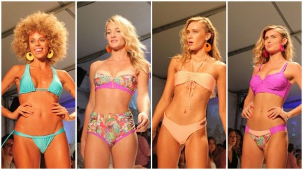 Robb & Lulu Make a Splash at Miami Swim Week 2016
