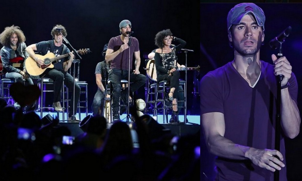 Enrique Iglesias in Amman: Record Turnout For the Spanish Star's First Concert in Jordan