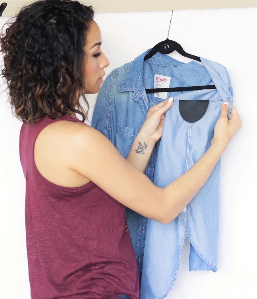 Say goodbye to embarrassing sweat stains!