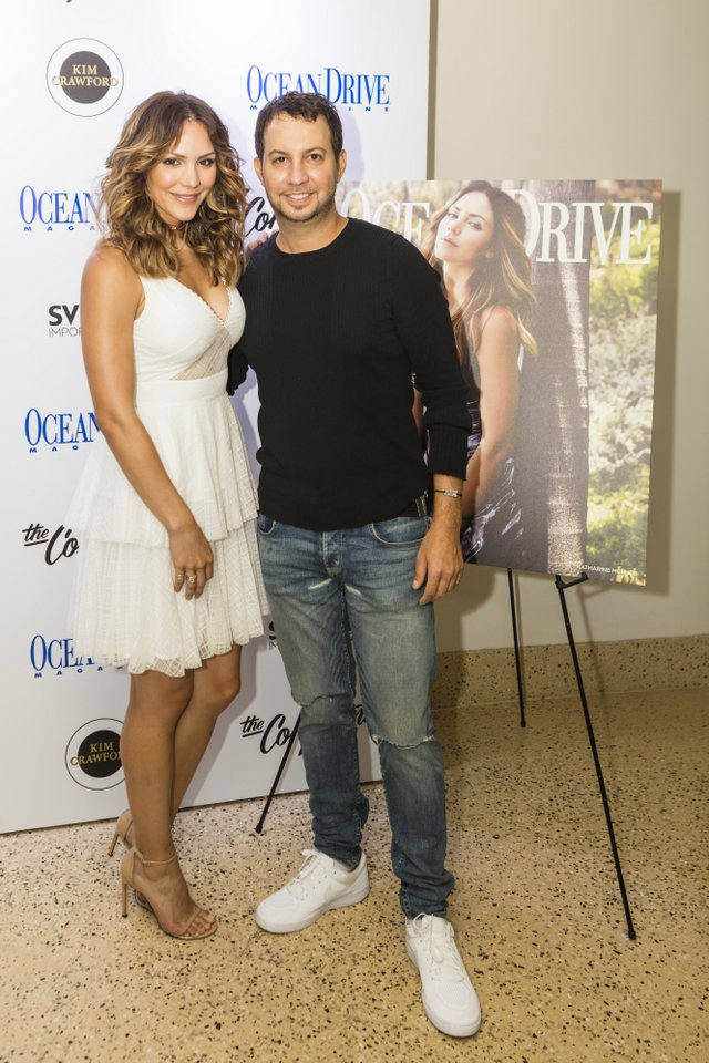 Katharine McPhee Celebrated Her Ocean Drive Cover with Live Performance