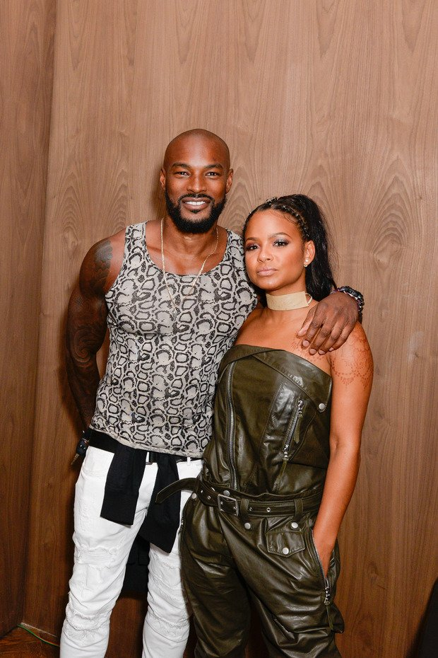 NEW YORK, NY - SEPTEMBER 13: Tyson Beckford and Christina Milian attend Interview & Topshop Celebrate the Interview September Issue on September 13, 2016 in New York City. (Photo by Presley Ann/Patrick McMullan via Getty Images)