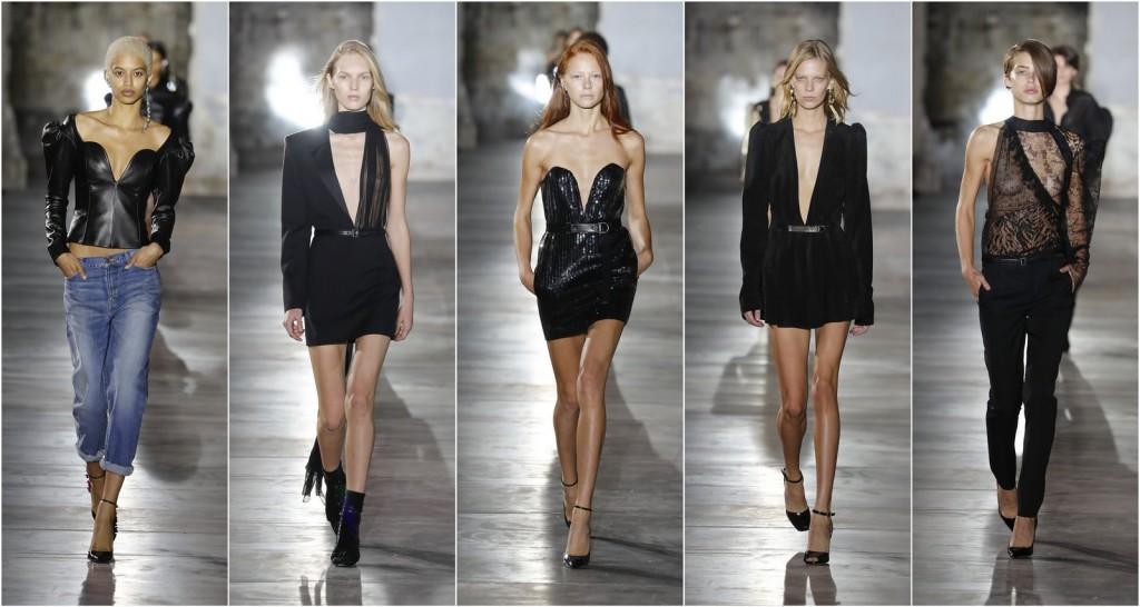 Paris Fashion Week: Saint Laurent Spring/ Summer 2017