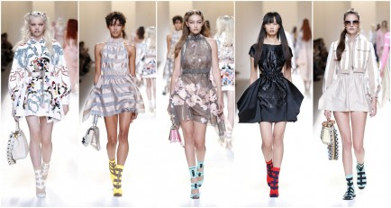 Milan Fashion Week: Fendi Spring/Summer 2017 Collection